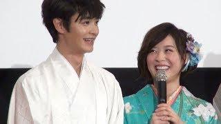 女優の北乃きいが8日、都内で行われた映画『僕は友達が少ない』(2月1日...