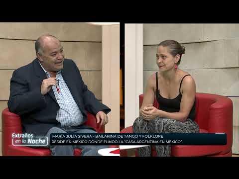 Extraños en la Noche 07-11-19 | María Julia Sivera y Luz Vilca