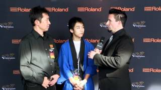 #03 Junya Nishimoto Interview; V-Drums World Championship 2012