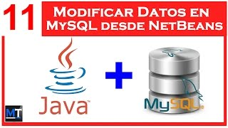 Modificar Datos en MySQL desde NetBeans [NetBeans con MySQL] [11/25]