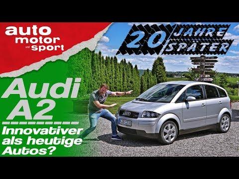 20 Jahre Audi A2: Innovativer als heutige Autos? - Bloch erklärt #67 | auto motor und sport