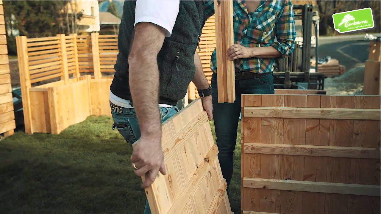 Hochbeet Timberra Concordia Basic Erweiterung Winkel