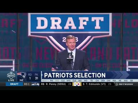 New England Patriots Draft RB Sony Michel - 2018 NFL Draft
