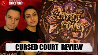 Cursed Court Board Game Video Review