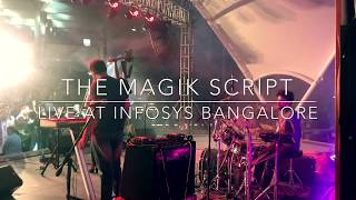 Mukkala Dance Medley cover by The Magik Script feat. Neethusha Live at Infosys Bangalore