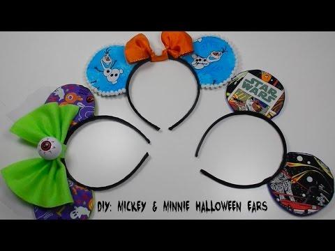 DIY:Mickey Mouse Ears Halloween Costume