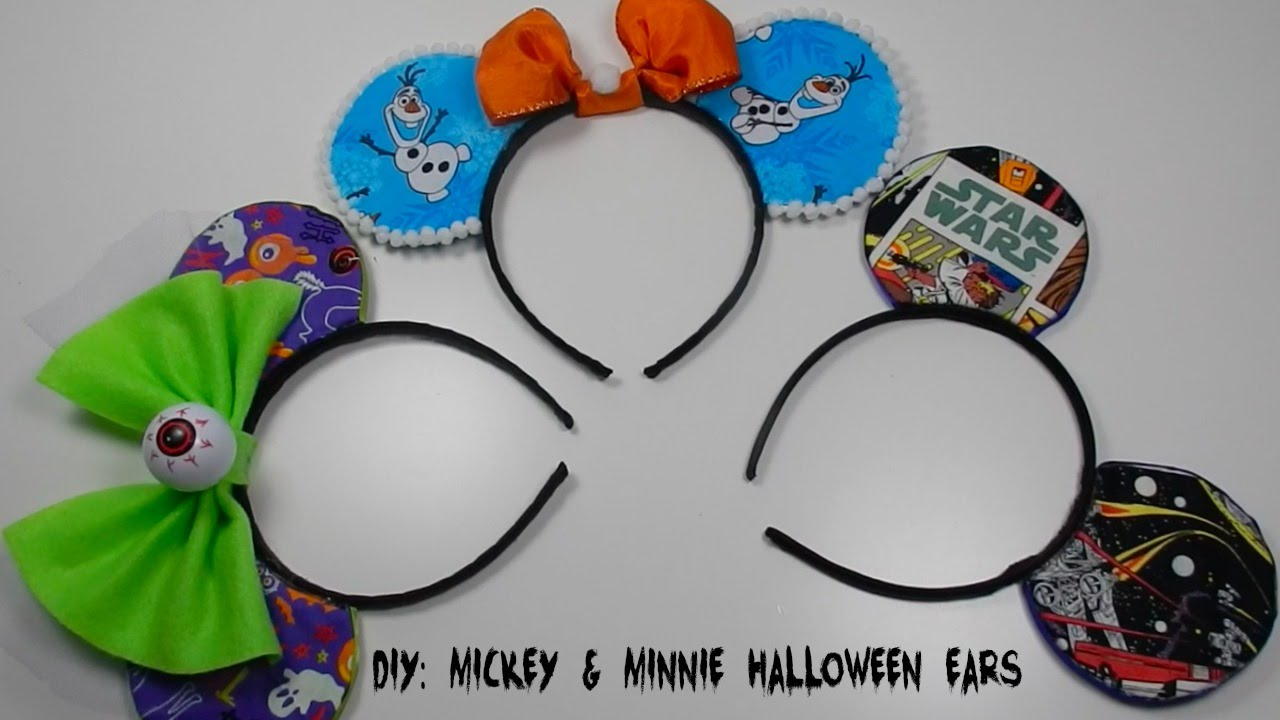 Diy Mickey Mouse Ears Halloween Costume