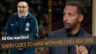 "WOW! Maurizio Sarri slams his Chelsea players | ""This is a huge, huge gamble!"""