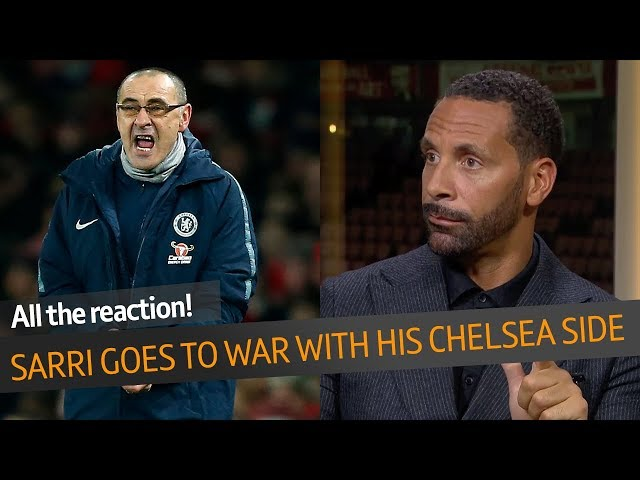 WOW! Maurizio Sarri slams his Chelsea players | This is a huge, huge gamble!