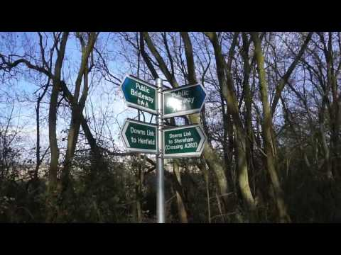 Travel Vlog. South Downs Way Horsham to Shoreham by Sea/ Stop at Stan's Bike Shack