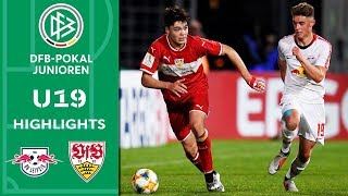 RB Leipzig - VfB Stuttgart 1:2 | Highlights | A-Junioren DFB-Pokal | Finale