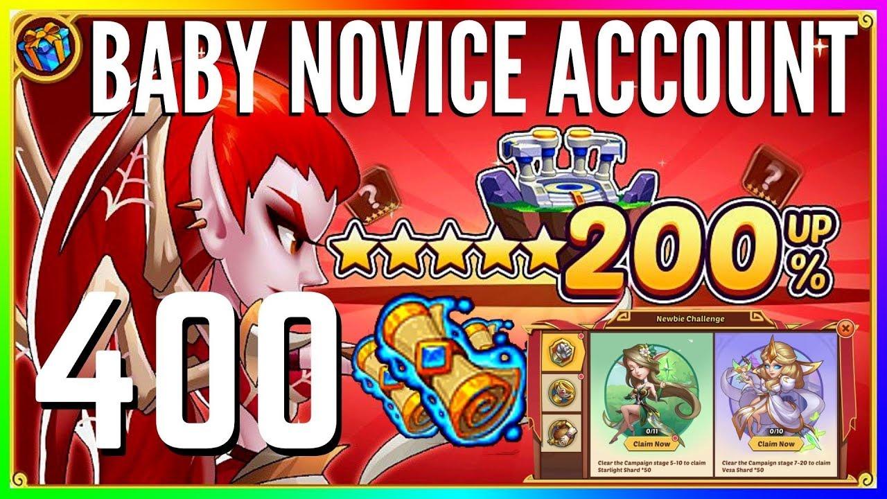Let's Get 1 Nakia! 400 HEROIC SUMMONS & Newbie Challenge