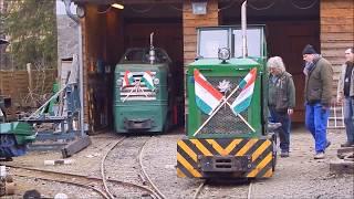 Kemencei Erdei Múzeumvasút 2018. március 15. / Narrow-gauge Museum Railway in Kemence