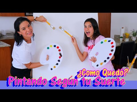 PINTANDO Segn La SUERTE | Reto de dibujo y pintura | AnaNana Toys