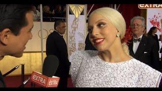 LEGENDADO: OSCAR 2015 - Lady Gaga fala sobre Taylor Kinney