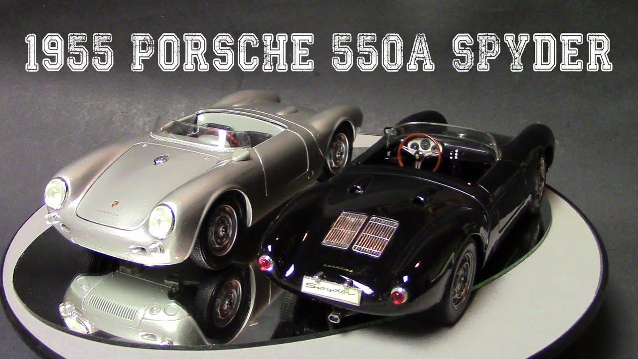 1 18 1955 Porsche 550a Spyder By Maisto Review Youtube