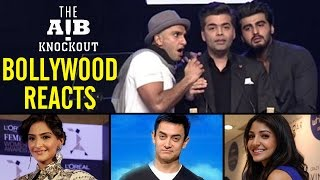 Bollywood stars REACT on AIB Knockout CONTROVERSY | EXCLUSIVE VIDEO