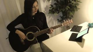 Contemporary classical and acoustic guitar - Sheet music and tablature