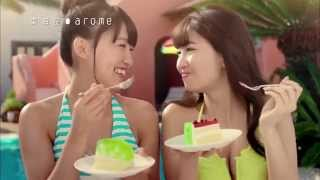 arome東海堂 X AKB48小嶋陽菜   全新水着CM放送 @cake little【真夏の果実】電視廣告