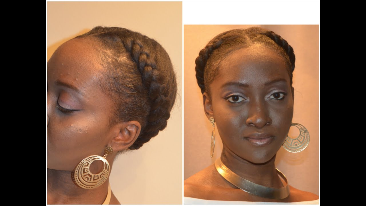3 Goddess Braids Hairstyles: Protective Styling - YouTube