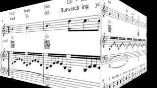 A Thousand Years - sheet music - partitura