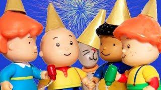 Szczęśliwego Nowego Roku Kajtus | Kajtuś po Polsku [Caillou] - WildBrain