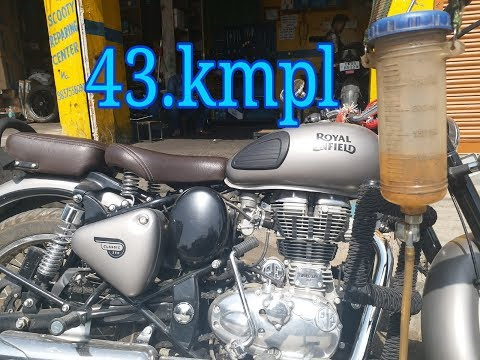 Classic 350 Gunmetal Grey mileage test
