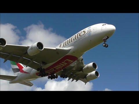 Emirates Airbus A380 - *BRAND NEW* Service to Birmingham Airport, BHX/EGBB UK!