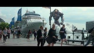 """НАПАДЕНИЕ робота """"Титановый фурий"""" на Сидней / Тихоокеанский рубеж 2 (2018)"""