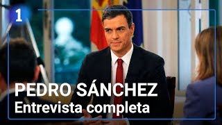ENTREVISTA A PEDRO SÁNCHEZ | Primera como presidente del Gobierno