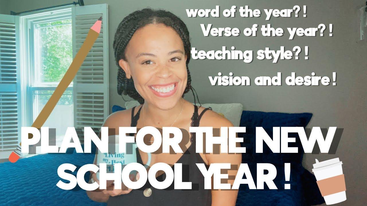 My PLAN for HOMESCHOOL: 2021-2022 SCHOOL YEAR