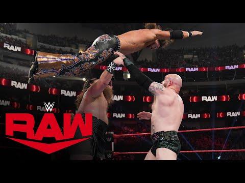 Riddle & The Viking Raiders vs. AJ Styles, Omos & John Morrison: Raw, July 19, 2021