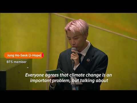 BTS sing their way through United Nations