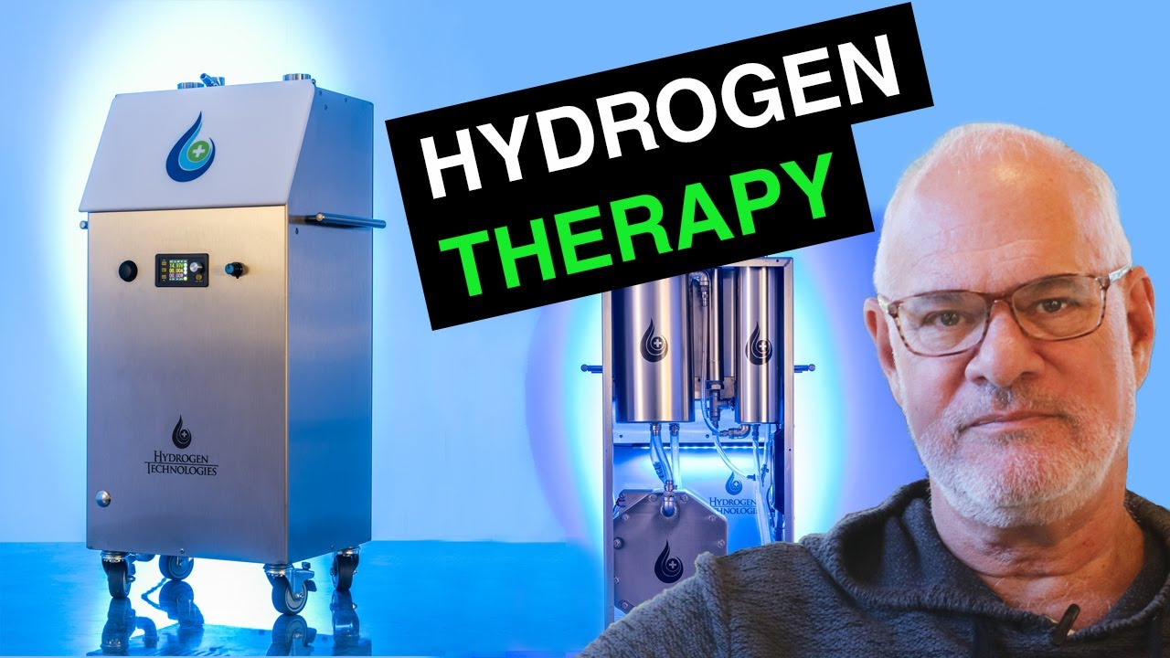 Hydrogen Therapy - Improving Health with a Hydrogen Inhaler