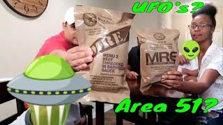 Are Aliens Real?  UFO Sightings  MRE Mukbank