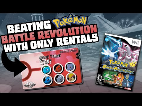 HOW EASILY CAN YOU BEAT POKEMON BATTLE REVOLUTION WITH ONLY RENTAL POKEMON?