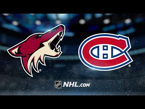 Coyotes score two PPGs in the 3rd to rally past Habs