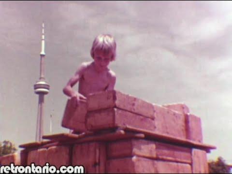 Toronto's Adventure Playground at Harbourfront (1970s)