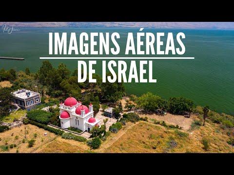 Imagens Aéreas Da Terra Santa - Mar Morto, Rio Jordão, Galiléia, Deserto Do Neguev E Muito Mais!
