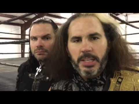 Matt and Jeff Hardy React