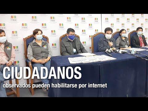 Ciudadanos observados en el padrón pueden habilitarse también por internet