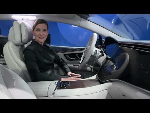 Mercedes-Benz Reveals Official Images of Its EQS Electric Interior