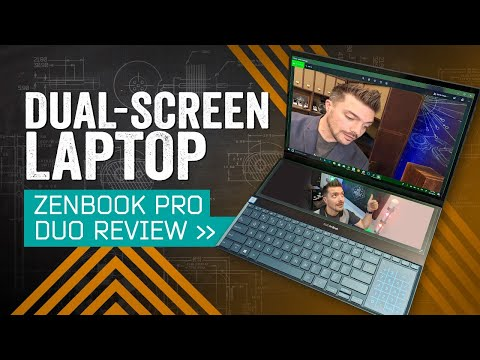 ASUS ZenBook Pro Duo Review: Every Laptop Should Have Two Screens