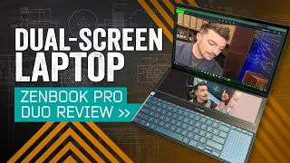 Every Laptop Should Have Two Screens: ASUS ZenBook Pro Duo Review