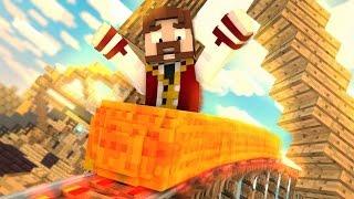 Minecraft: CRIE A SUA MONTANHA RUSSA ÉPICA!! (Rollercoaster Mod)