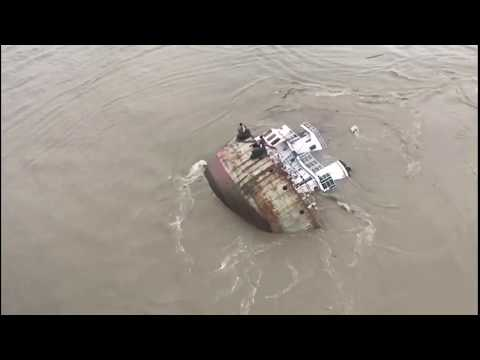 Two ships and a barge collided, 3 sailors died, Chittagong port