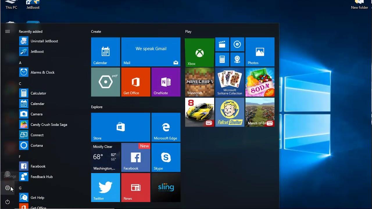 Uninstall JetBoost 2.0 on Windows 10 Creators Update - YouTube