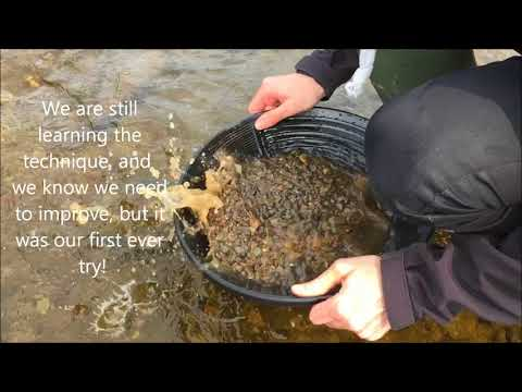 Panning For Scottish GOLD! Our First Ever Attempt!