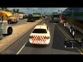 Gran Convoy de Jackpot a Huron   American Truck Simulator
