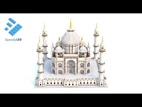 LEGO 10189 Taj Mahal LDD Digital Speed Build